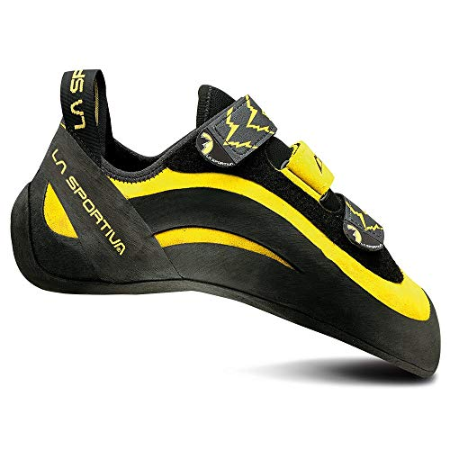 La Sportiva Miura VS Climbing Shoe, Yellow, 42.5