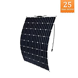 SUNYEE 12V 200W Solar Panel Generator for Car Camping Home Mono Power Charging Battery USB