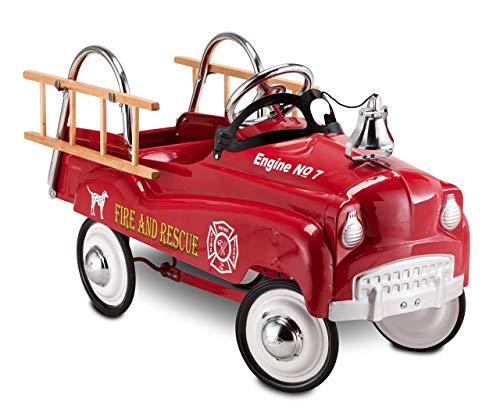 InStep Fire Truck Pedal Car (Renewed)
