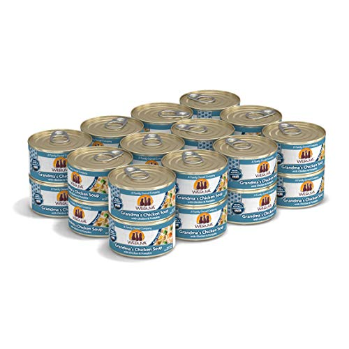 Weruva Classic Cat Food, Grandma?S Chicken Soup With Chicken Breast & Veggies, 3Oz Can (Pack Of 24)