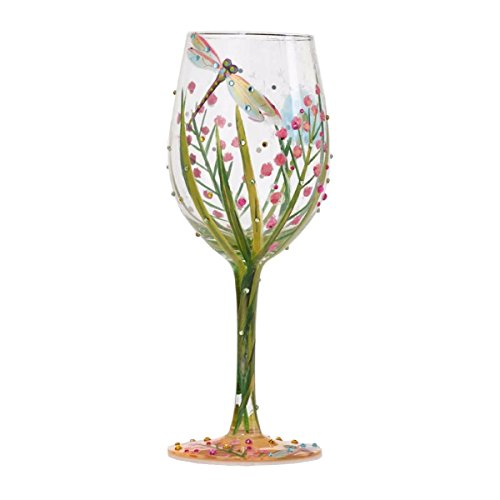 Lolita from Enesco Dragonfly Wine Glass, 9