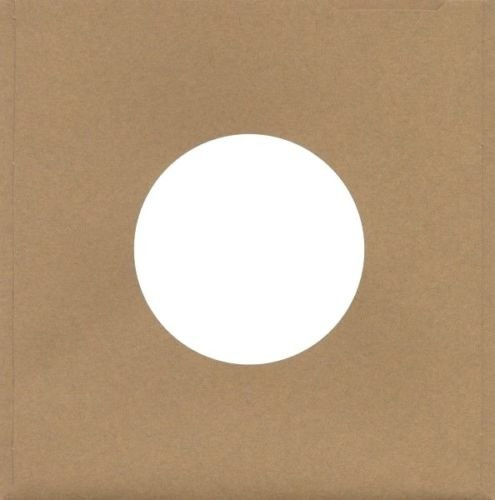 Sleeve Record Capitol - 100 Pack of Kraft Brown Cardboard Chipboard Sleeves Jackets for 7