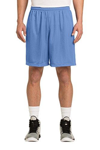 (Sport-Tek Men's PosiCharge Classic Mesh Short L Carolina Blue )