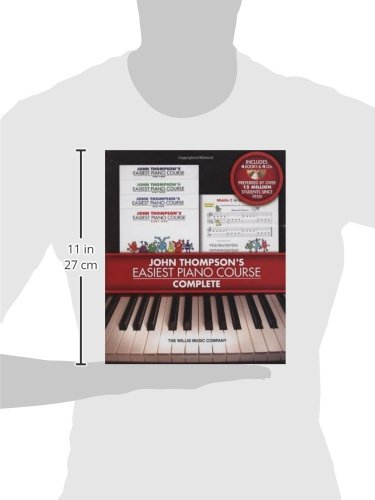 Easiest Piano Course Complete - Boxed Set (Books 1-4 with CD ...