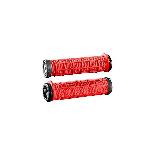 Odi Lock-On MTB Bonus Pack, Elite Pro - Bright Red/Blk - D33EPBR-B