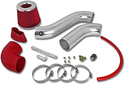 """08-10 Challenger 3.5 V6 Racing Air Intake RED Filter 3/"""""""