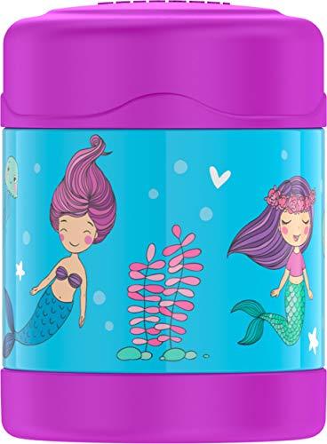 Thermos Funtainer, Mermaid 10 oz Food Jar, 10 Ounce