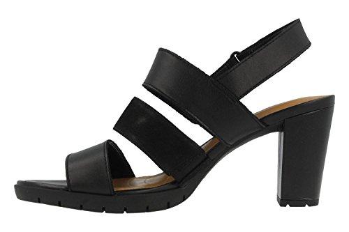 CLARKS Sandale 26133641 Kurtley Nacre Noir 40 Noir Q8Enbu