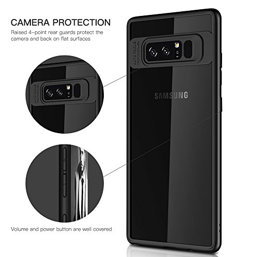los angeles 9a1a7 bccf2 Galaxy Note 8 Case,Myriann Ultra Clear Scratch Resistant Drop ...