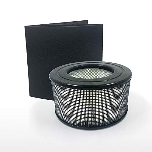 GreenR3 Replacement True HEPA Air Filter + 1 Cut-to-fit Carbon Pre-Filter for Honeywell 20500 Fits Honeywell 10500 EV-10 17000 17005 17006 17007 17008 17009 83170 Air Purifiers