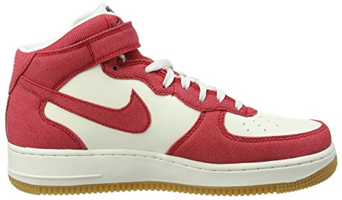 Nike Mens Air Force 1 Mid 07 Scarpa Da Basket Rossa E Bianca