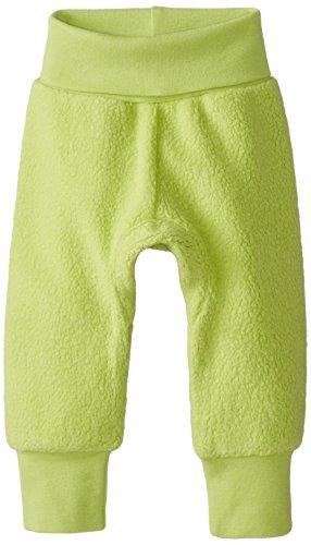 Zutano Unisex-Baby Newborn Cozie Fleece Cuff Pant, Lime, 6 Months (Cotton Zutano Leggings)
