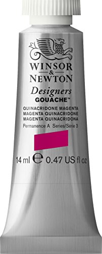 Winsor And Newton Designer Gouache 14Ml Quinacridone -