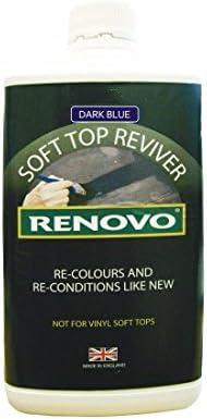 Renovo Dark Blue Fabric Soft Top Reviver Kit - 1 Liter