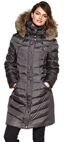 Michael Khors Women's Faux-Fur-Trim Down Puffer Coat, US - Michael Khor