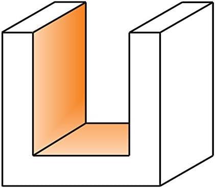CMT 190.505.11-Fresa helicoidal z2+2 hwm d=1//2x1 s=1//2 DX Silver