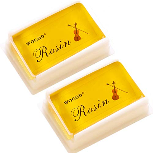Rosin Violin Rosin Light Low Dust Rosin 2 Pack for Bows for Violin Viola and Cello