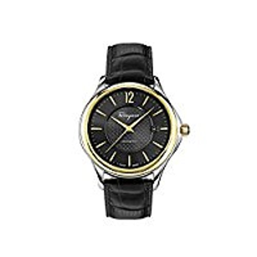 Salvatore-Ferragamo-Mens-Time-Automatic-Automatic-Stainless-Steel-and-Leather-Casual-Watch-ColorBlack-Model-FFT020016