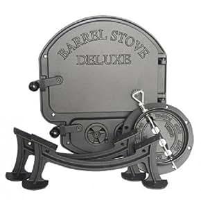 Vogelzang Deluxe Barrel Stove Kit