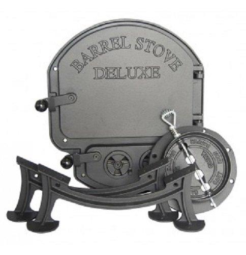 Vogelzang Deluxe Barrel Stove Kit Import It All