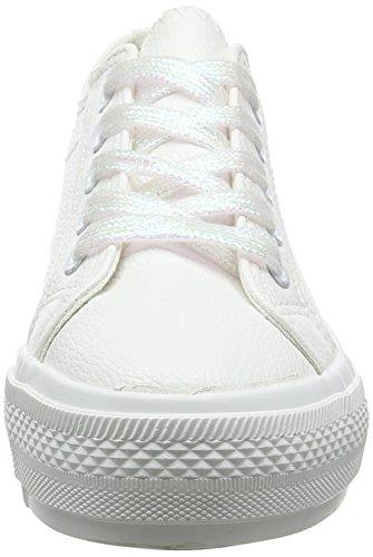New Look Wide Fit-Maces, Escarpins Bout Fermé Femme Blanc (White 10)