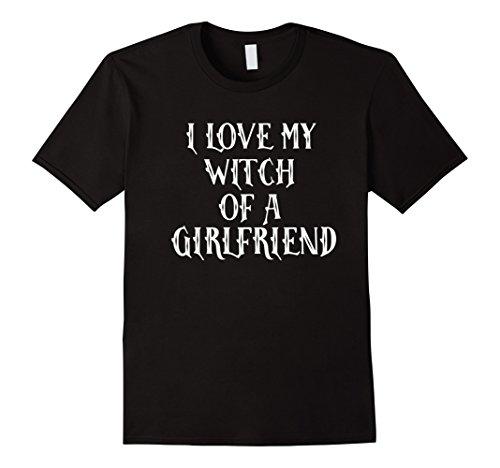 Halloween Costumes For Boyfriend And Girlfriend (Mens Funny Halloween Couples Shirt Costume Boyfriend Girlfriend 2XL Black)