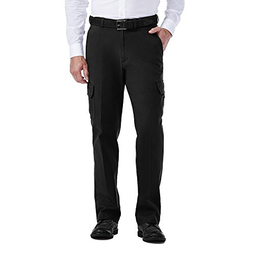 Haggar Stretch Comfort Expandable Waist Classic Fit