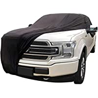 Win Power Car Cover Soft Stretch Fabric Anti-UV Dustproof Windproof Scratch-resistant Full Protection Universal for Ford…