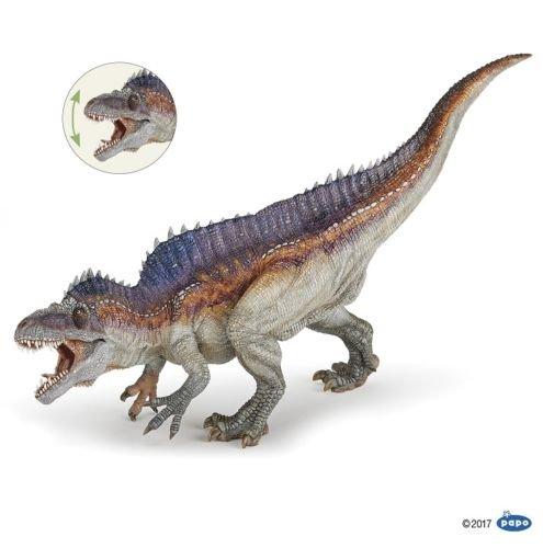 gg Acrocanthosaurus 11 3/8in Dinosaurs Papo 55062 Novelty 2017