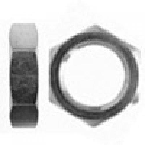 Brennan 0306-10-SS - Bulkhead Lock Nut - 5/8 in O-Ring Boss, (SAE) 7/8–14 Thread, Stainless Steel