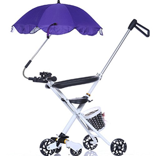 Katech Detachable Stroller UV Protection Umbrella Adjustable Baby Pram Pushchair Sun Shade Parasol with Universal Clamp by Katech (Image #6)