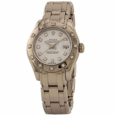 Rolex Masterpiece Swiss-Automatic Female Watch 80319 (Certified Pre-Owned) from Rolex