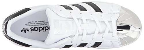 Adidas De Silvmt Orteil En Noir Superstar Blanc Chaussure W Argent Skate Cblack Femmes Métal Ftwwht xtg006rnwq