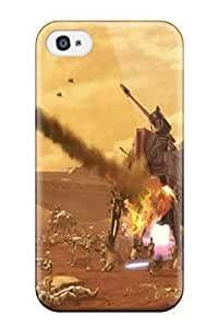 Tpu Case Cover Compatible For Iphone 4/4s/ Hot Case/ Star Wars Tv Show Entertainment