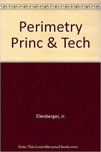Book Perimetry Princ & Tech
