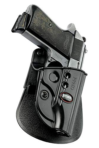 Fobus Standard Holster RH Paddle PPKE2 Walther PPK