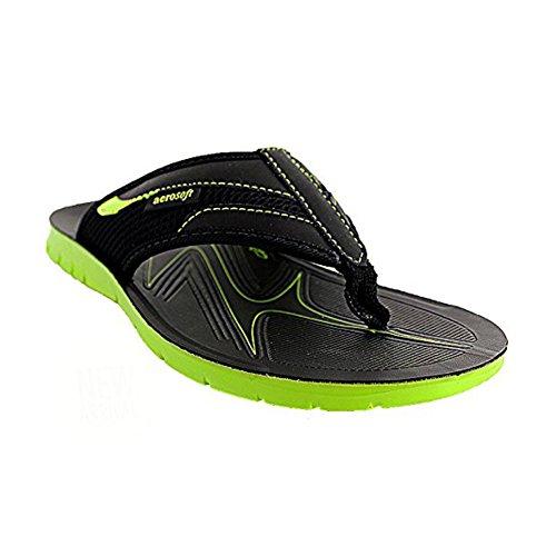 Aerosoft Mens Hospet Sandals Green d8jMvxU