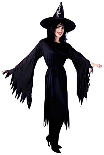 Forum Novelties Women's Wicked Witch Costume, Black, -