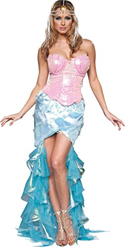 InCharacter Costumes Women's Mesmerizing Mermaid Costume, Pink/Blue, Medium