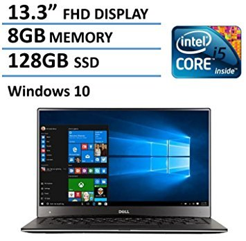 Dell XPS 13 13.3-Inch Laptop(Intel Core i5-6200U Processor, 8GB RAM, 128GB SSD, Backlit Keyboard, Windows (Best Keyboard For Windows Xps)