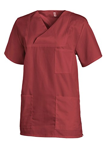 Bianca Bordeaux Maglietta 1 Manica 2 Unisex Red Leiber 4x6q7ZTw4