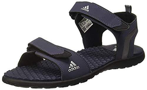 Adidas Men s Mobe TRABLU SILVMT CBLACK Sandals-45 (CJ0215)  Buy ... 344b5c871
