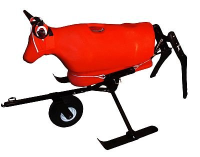 Something Steer Training System - Roping Sled Roping Dummy Combo - Choice of Dummy Color