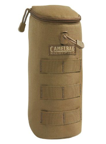 CamelBak Max Gear Bottle Pouch, MOLLE Compatible, Coyote, 500D