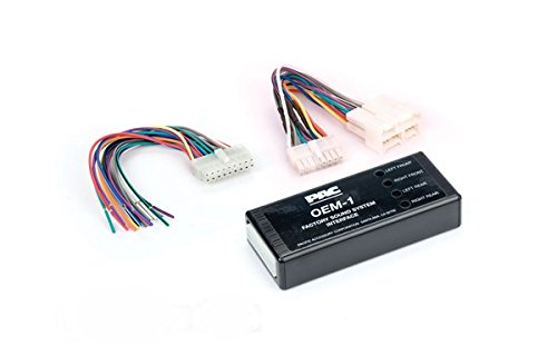 (PAC ROEM-GM21A System Interface Kit to Replace Factory Radio and Integrate Factory Amplifiers for Select 99-02 full size GM/Chevrolet SUVs )