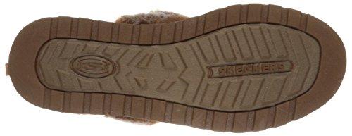 Skechers Keepsakes - Winter Wonder - Zapatillas de estar por casa de sintético para mujer marrón - Brown (Csnt)