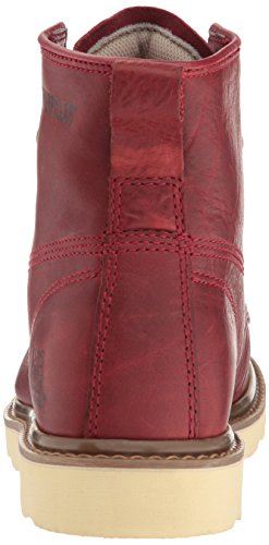 Caterpillar Mens Glenrock Mid Fashion Sneaker Deep Crimson