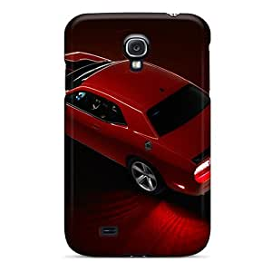 Perfect Cell-phone Hard Cover For Samsung Galaxy S4 (vht3825oYtz) Custom Vivid Dodge Challenger Image