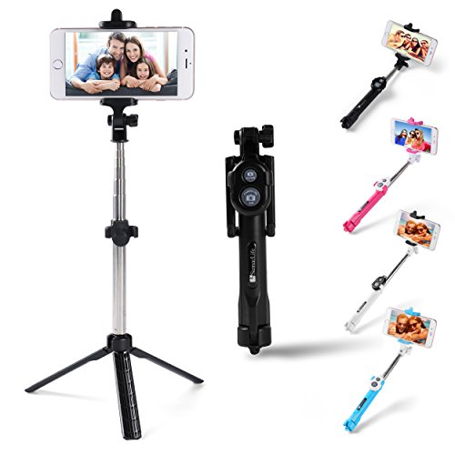 Sky Mobile Phone Holder and Monopod (Pink) - 5