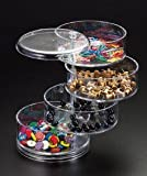 Candy Dish 4- Tier (Swivel)